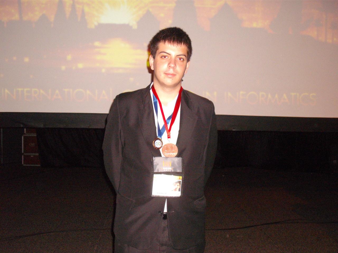 Rodrigo - Medalha de Bronze